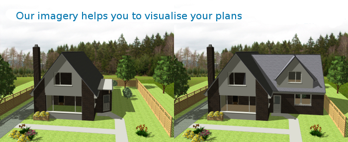 Building visualisation help you visualise your plans